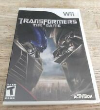Transformers: The Game (Nintendo Wii, 2007) - Brand New + Factory Sealed!
