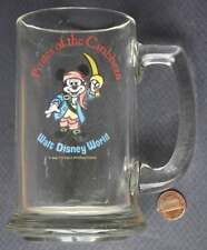 1970s Walt Disney World Mickey Mouse Pirates of the Caribbean root beer stein!