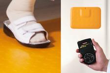Praxis-Rufsystem mit Fußtaster & Funk-Empfänger: robust, erweiterbar, gelb