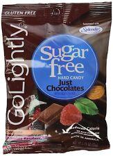 "Go Lightly Sugar Free Hard Candy ""Just Chocolates"" Assortment, 2.75 oz bag,..."