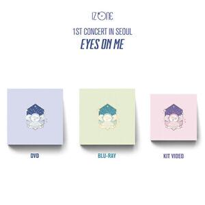 IZ*ONE 1st Concert in Seoul - Eyes on me DVD / BLU-RAY / KIT VIEDO Official KPOP