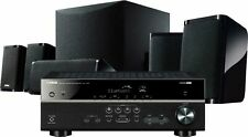 Open-Box Excellent: Yamaha - 725W 4K Ultra Hd 5.1-Channel Home Theater System.