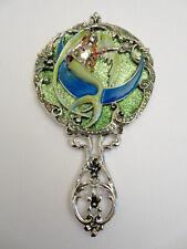 New Kirks Folly Mermaid On A Crescent Moon Vanity Mirror Nib #1