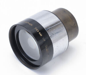 """Bausch & Lomb 4.5"""" inch f/2.3 Super Cinephor 35mm Projection Movie Lens  READ"""