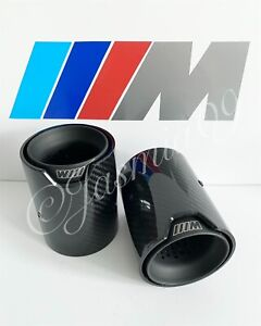 60MM M PERFORMANCE MPE EXHAUST TIPS M135i M140i M235 M240i 340 335 435 440 Z4 X6