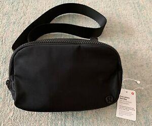 New LULULEMON Black Everywhere Belt Bag Crossbody Fanny Pack