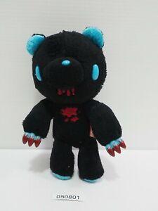 "Gloomy Bear 050801 Black Blue Mori Chack CHAX CGP-228 Taito Mascot 5"" Plush"