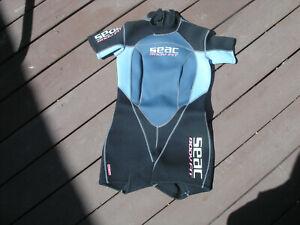 seac wetsuit womans shorty