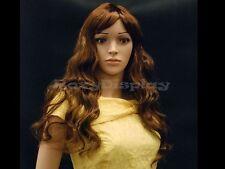 Female Wig Mannequin Head Hair Long Wig #WG-T23M-P33