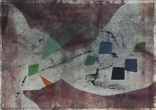 Rolph Scarlett Abstract Composition monoprint