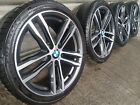 """Genuine BMW 3 4 Series 19"""" 704 M Sport Alloy Wheels And Tyres F30 31 33 34 E92"""