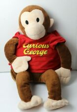Zoobies Curious George Plush Storytime Pals Pillow Carier with Blanket