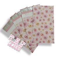 uPaknShip 6x9 Rose Print designer poly mailers shipping envelopes