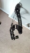 "2017 Prime Centergy Air Black Compound Bow! RH 26"" 40-50 ABSOLUTE MINT!"