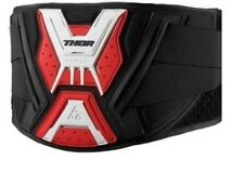 2017 Thor Force Motocross Body Kidney Belt Support Black Red Large XLarge