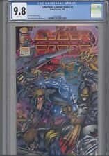 Cyberforce #2 Limited Series CGC 9.8 1993 Image/Top Cow    :NEW Frame