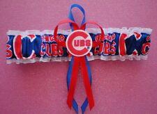 Chicago Cubs Logo Wedding Garter Toss Prom  Baseball  MLB