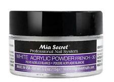 Mia Secret 3D White Acrylic Nail Powder Nail System - Made in USA 1/2 OZ