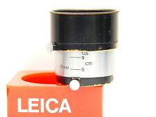 LEICA FIKUS LENS HOOD - EXTENDIBLE FOR 3.5 : 5CM : 9 cm AND 13.5 cm LENSES. E36.
