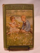 THE BOBBSEY TWINS AT MEADOW BROOK #7 - By Laura Lee Hope - Picture Cover No DJ