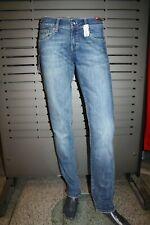 Mavi Jeans Lindy Stone 10197-6671 Drk Usd Brz Str New Skinny Elastic Low Rise