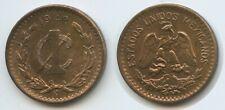 H0267 - Mexico 1 Centavo 1942 M° KM#415 XF-UNC Mexiko