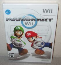 MARIO KART Wii Sealed NEW Nintendo Wii Cart Racer Driving Game MARIOKART