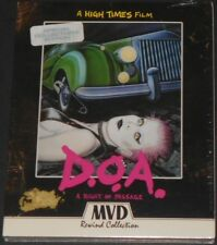 D.O.A. a right of passage USA BLU-RAY + DVD new SEX PISTOLS x-ray spex THE CLASH