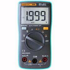 Polimetro Multimetro Tester RM098 Amperimetro Voltimetro Ohm AC/DC Luz LED Fondo