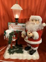 BOX TELCO MOTIONETTES LETTER TO SANTA 1995 ANIMATED CHRISTMAS MEMORY RARE WORKS