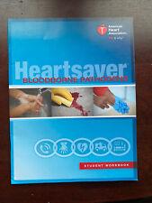 Heartsaver Bloodborne Pathogens Student Workbook 2017