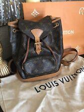 LOUIS VUITTON MONTSOURIS BACKPACK HAND BAG SP1020 MONOGRAM