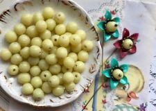 Gioielli e gemme di perla naturale giallo