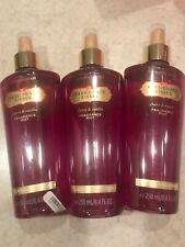 Rare 3 Victorias Secret Passionate Kisses Fragrance Mist Partial 8.4 Oz New