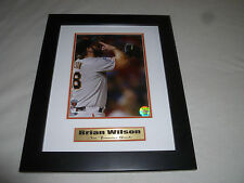FRAMED BRIAN WILSON SAN FRANCISCO GIANTS PHOTO 2010 WORLD SERIES CHAMPIONS SF >>