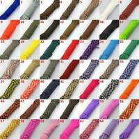 25/50/100FT Parachute Cord 550 Paracord 7 Core Strand Outdoor Camping Rope