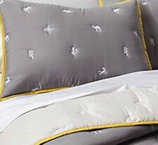 Beautiful Twin Egyptian Embroidery Comforter Set