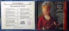 CD CLASSICA - MUSICA ITALIANA 700/800 - 1 CD n.4126