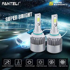 9006 1500W 225000LM CREE LED Low Beam Headlight Conversion Kit 6000K White Bulbs