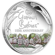 2016 Australia the 100th Anniversary of Gumnut Babies 1 oz SIlver Proof $1 Coin