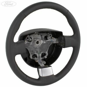 Genuine Ford Fiesta Mk6 Fusion Transit Connect Leather Steering Wheel 1419437