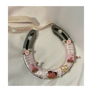 Lucky Horseshoe For Any Occasion Or Theme. Unique Hand Decorated Made To Order