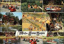 HOLTFELD am Teutoburger Wald 1978 Wasser Schloss Mehrbild-AK Postkarte gelaufen