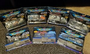 Star Wars Micro Machines Collection Vehicle 3-Pack Lot of (7)