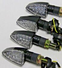 4X LED ARROW SCHWARZ BLINKER FÜR YAMAHA BULLDOG XTZ 750 XTZ750 HOND CB 125 CB125