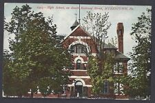 1915 High School On South Railroad St, Myerstown Pa
