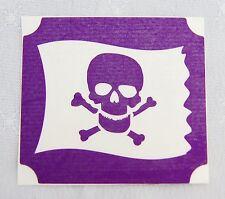GT85 Body Art Temporary Glitter Tattoo Stencil Pirate Flag