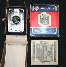 Bilora Blitz-Box C  von ca. 1952 +Karton +Ber.-Tasche +Bed.-Anleitung