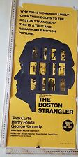 1968 BOSTON STRANGLER FILM POSTER,*ORIGINAL* AUSTRALIAN,TONY CURTIS HENRY FONDA