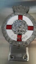 VINTAGE ENGLAND CAR BADGE J.R.GAUNT BIRMINGHAM